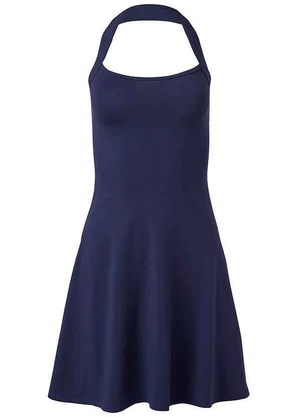 Alternate View Halter Neck Dress