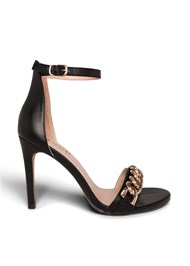 Shoe series side view Chain Detail Heels