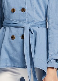Alternate View Denim Trench Coat