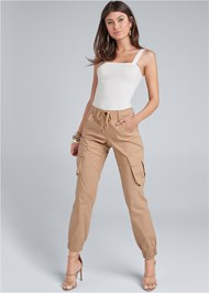 Front View Cargo Pants