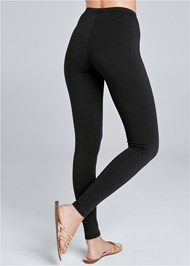 BACK VIEW Basic Leggings