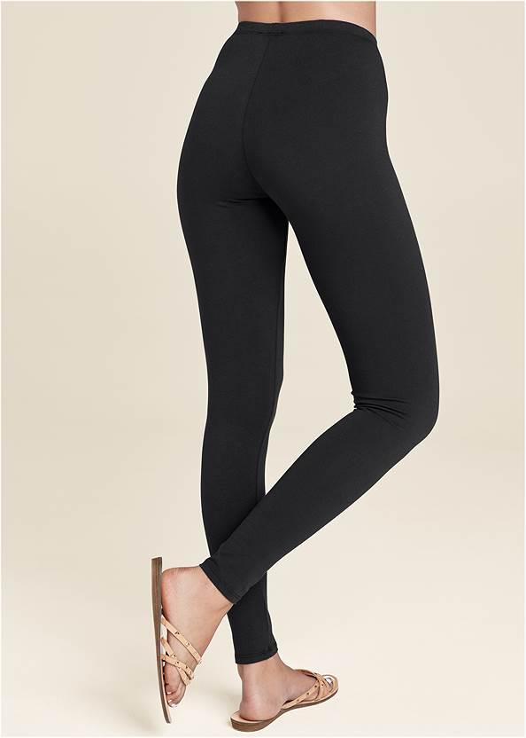 BACK VIEW Basic Leggings