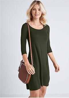 casual swing dress