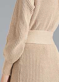 Detail back view Belted Duster