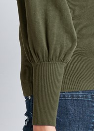 Alternate View Puff Sleeve Sweater