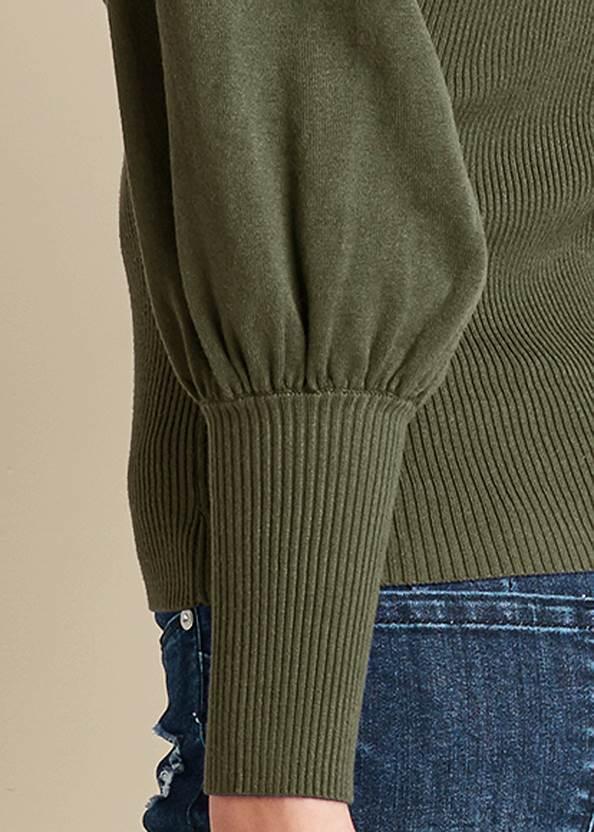 Alternate View Puff Sleeve Sweater
