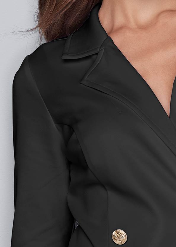 Alternate View Tassel Coat Dress