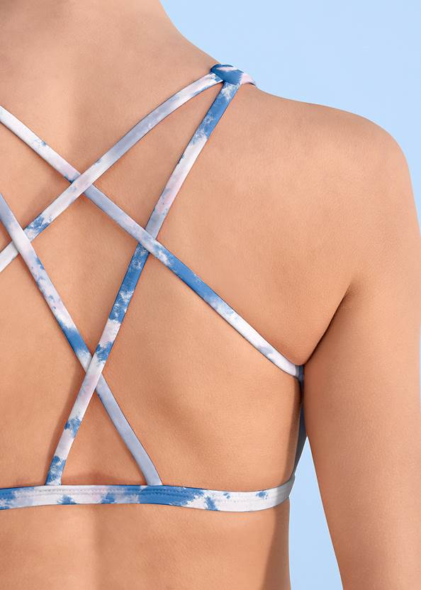 Alternate View Sporty Strappy Back Top