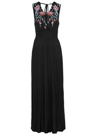 Alternate View V-Neck Maxi Dress