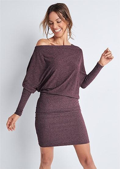 dolman sleeve lounge dress