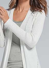 Alternate View Long Ribbed Duster