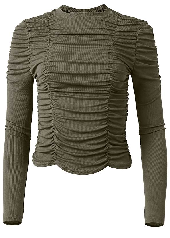 Alternate View Ruched Top