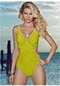 Cropped front view Angled Monokini