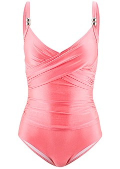 plus size slimming one-piece