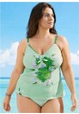 Front View Printed Tankini