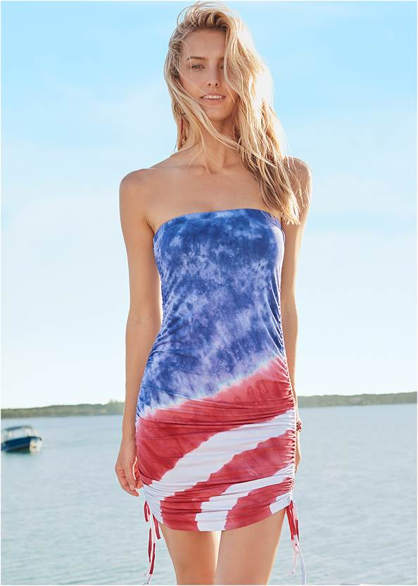 Alternate View Tube Cover-Up Dress