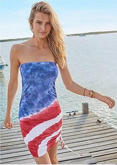 tube cover-up dress