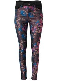 Ghost with background  view Brocade Skinny Jeans