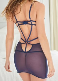 Detail back view Strappy Sexy Chemise