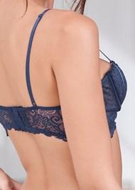 Detail back view Balconette Bra/Panty Set