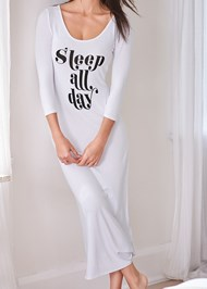 Alternate View Graphic Sleep Maxi Dress
