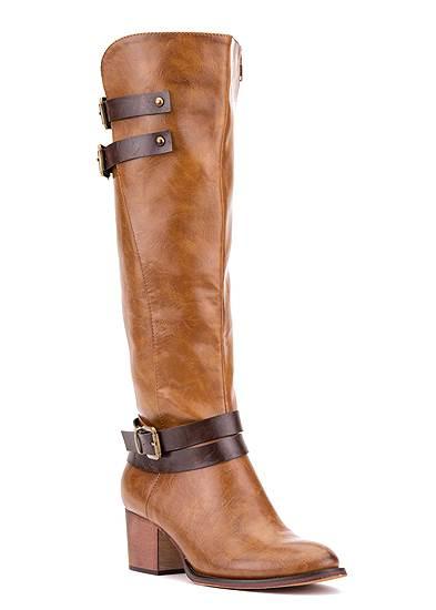 Tall Belt Detail Boot