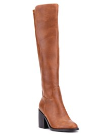 Shoe series 40° view Knee High Block Heel Boot