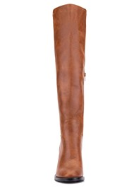 Shoe series front view Knee High Block Heel Boot