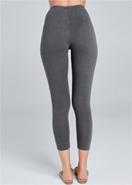 Back View Capri Legging Two Pack