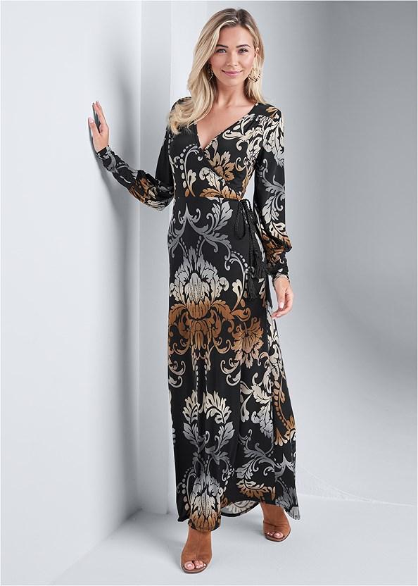 Tassel Detail Long Dress