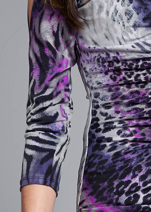 Detail front view Animal Print Top