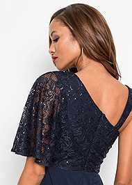 Detail  view Lace Overlay Jumpsuit