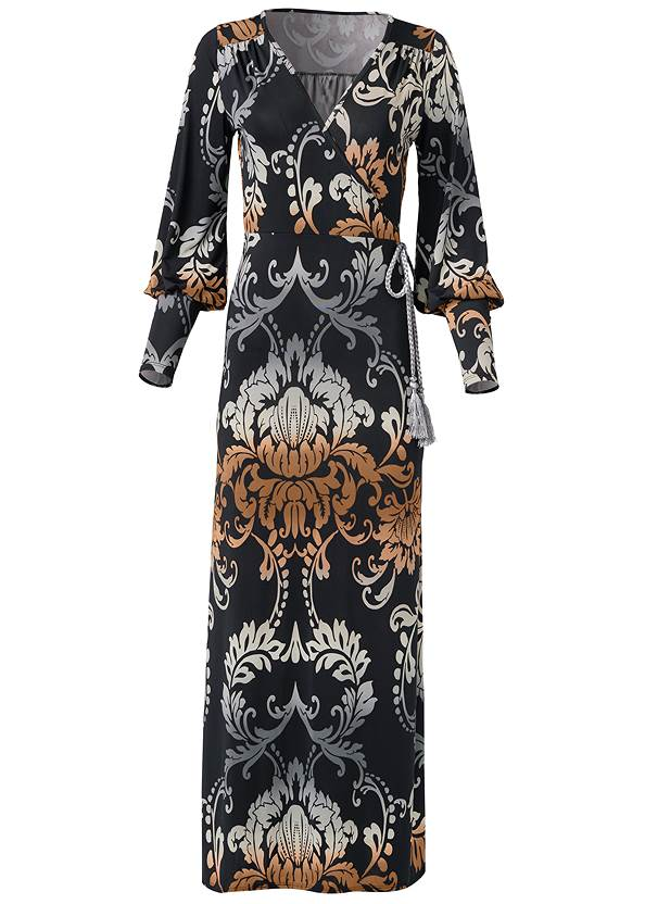 Ghost with background  view Tassel Detail Long Dress