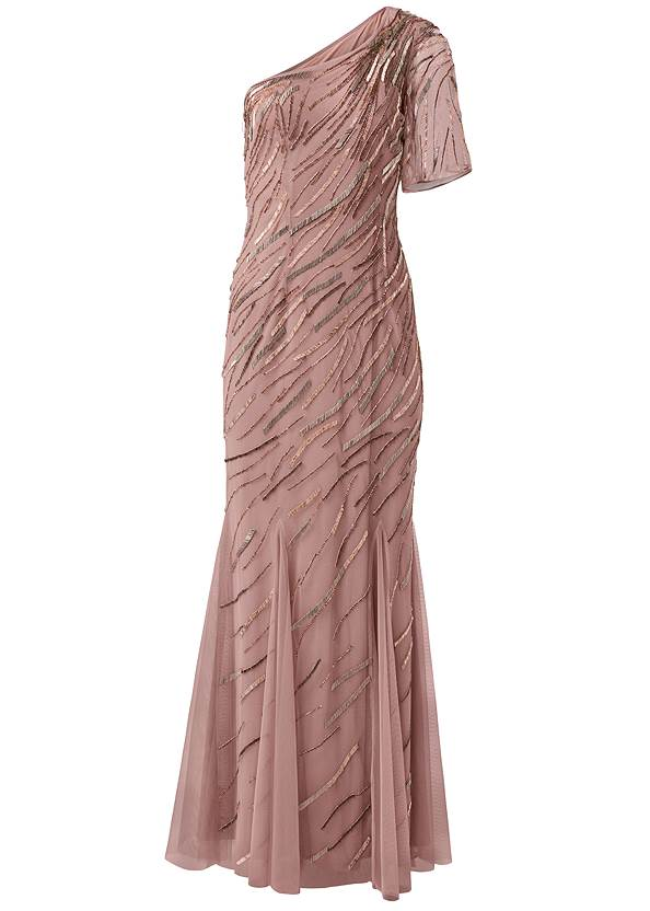 Ghost with background  view Sequin Detail Gown