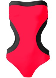 Ghost with background  view Bandeau Monokini