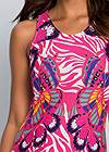 Alternate View Abstract Printed Maxi Dress