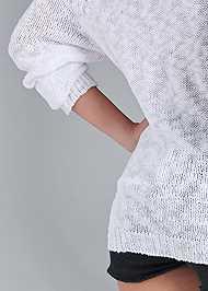 Alternate View Graphic Sweater