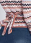 Alternate View Wrap Detail Sweater