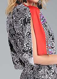 Alternate View Paisley Print Jumpsuit