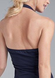 Back View Halter Neck Dress