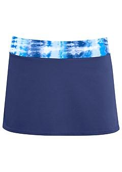 plus size skirted swim bikini bottom