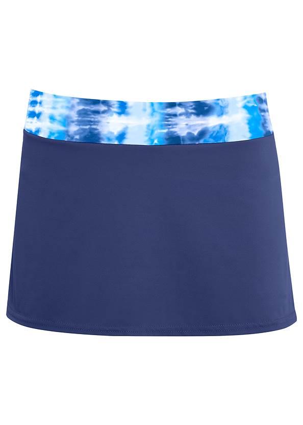 Mid Rise Swim Skirt Bikini Bottom,Sally Underwire Ring Top,Adjustable Long Tankini Top