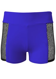 Ghost with background  view Mesh Trimmed Swim Shorts