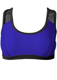 Ghost with background  view Racerback Sport Top