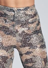 Alternate View Sequin Camo Leggings
