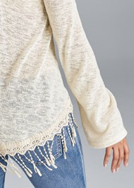 Alternate View Fringe Casual Top
