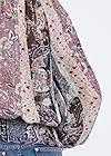 Detail back view Paisley Print Top