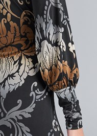 Detail back view Tassel Detail Long Dress