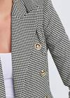 Alternate View Houndstooth Double Breasted Blazer