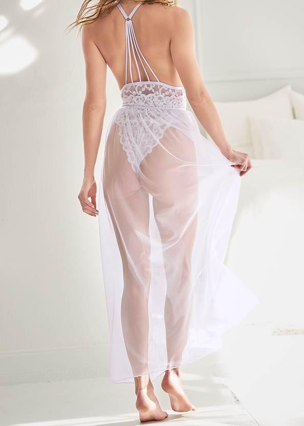 Alternate View Sexy Sheer Maxi Skirt